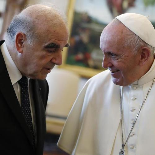 President George Vella in private audience with Pope Francis (Updated)