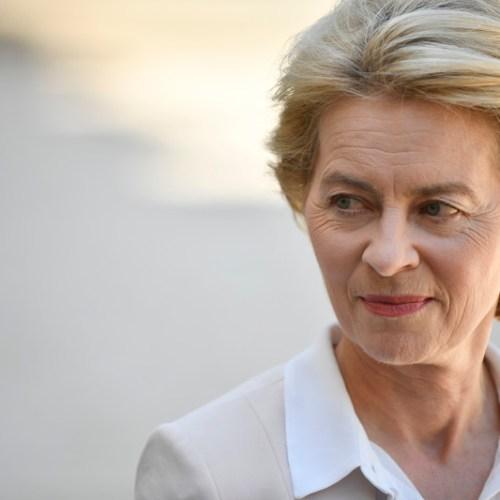 Von der Leyen is considering plans to revamp the European Commission