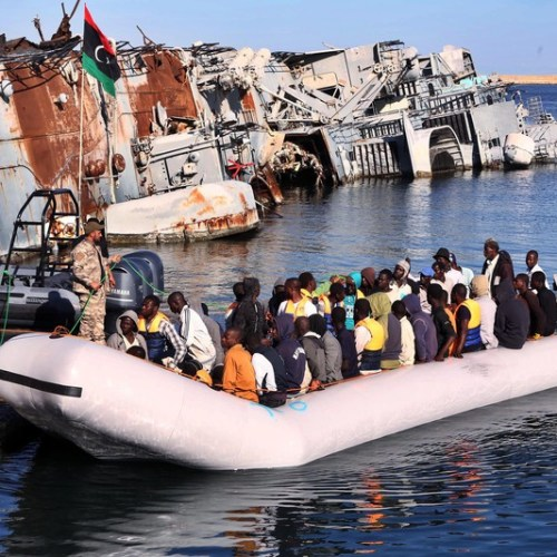 Almost 500 persons picked up from Libyan Coast Guard in six separate operations close to Tripoli