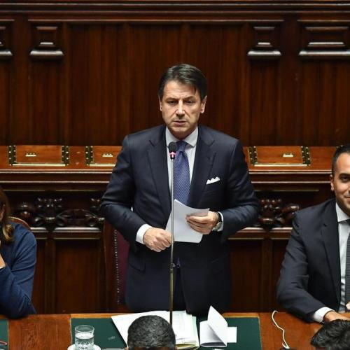 Italian government given green light by Parliament's vote of confidence