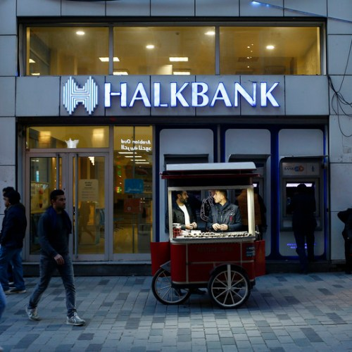 US charges Turkey's Halkbank with violating Iran sanctions