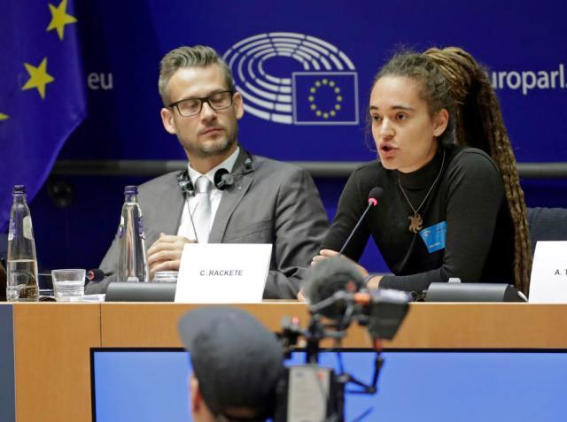 Sea-Watch captain Carola Rackete hearing at EU parliament