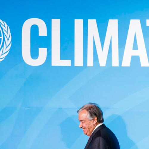UN's Guterres says that a broad climate 'movement' has begun, but there's a long way to go
