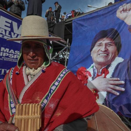 Bolivia's Evo Morales faces tight election race