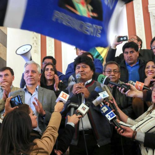 Photo Story: Bolivia heads to run-off Presidential elections