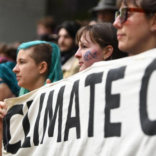 Climate protests block roads in European cities