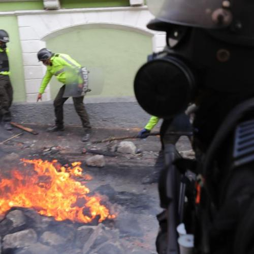 Ecuador paralyzed by national strike