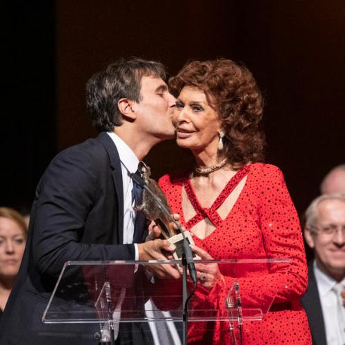 Photo Story: Italian actress Sophia Loren honoured in Vienna