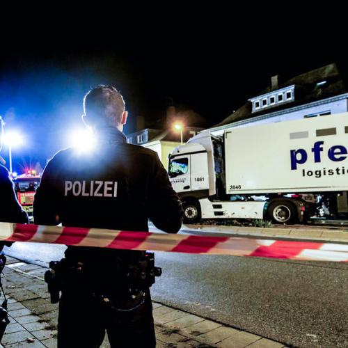 German police open terrorism investigation after eight injured in truck attack