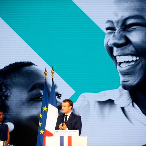 France to increase contribution to Global Fund to Fight HIV, TB and malaria by 15 percent