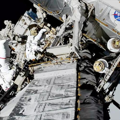 Photo Story: NASA issues photo of first all-female spacewalk