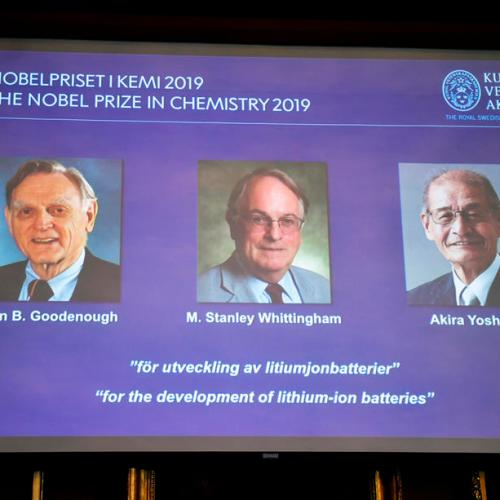 Lithium-ion batteries win chemistry Nobel Prize