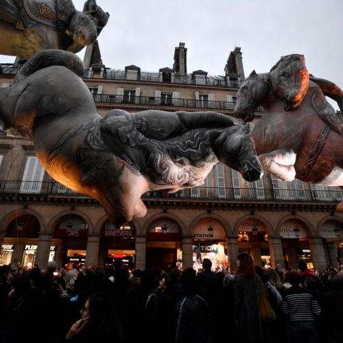 Photo Story: Parade of the Nuit Blanche in Paris