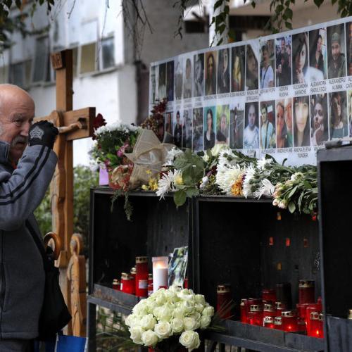 Photo Story: Commemoration on the anniversary of Romanian nightclub blaze