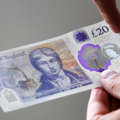 Bank of England unveils new £20 note