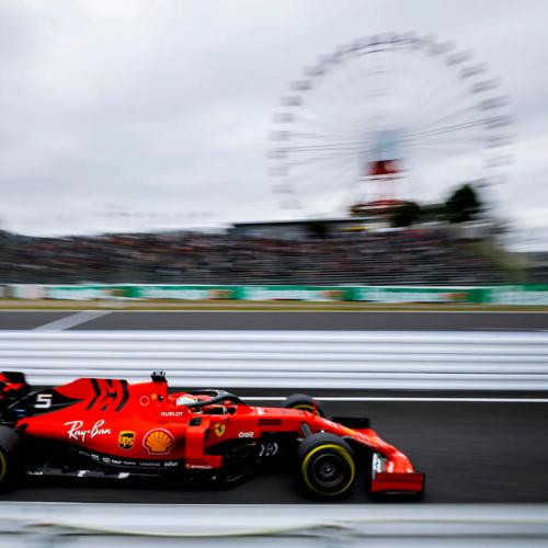 Ferrari secures first two places on grid in Japan's GrandPrix qualification