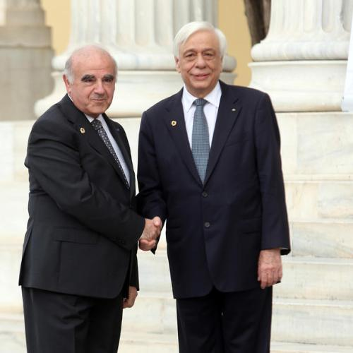 President George Vella attends the Arraiolos Group Meeting of Heads of State in Athens