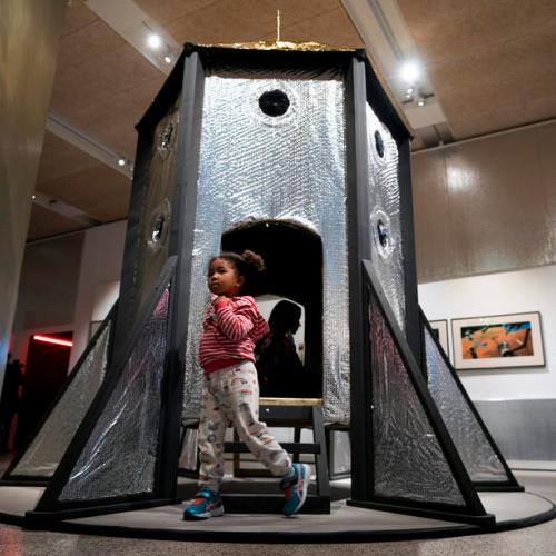 Photo Story: The Moving to Mars Exhibition in London