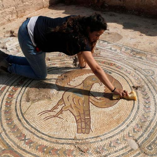Photo story: Excavation site of a Byzantine basilica in Israel