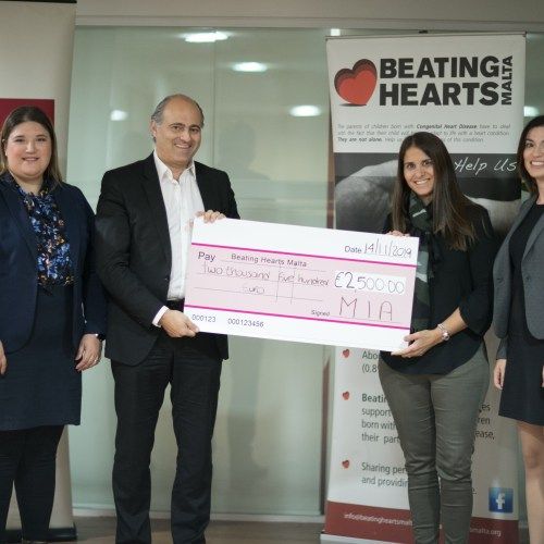 Maltese accountants reach fundraising goals