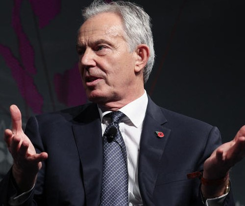 Blair states Britain is a dangerous mess