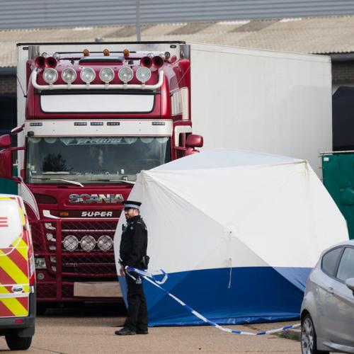 All 39 people found dead in Essex truck container were Vietnamese