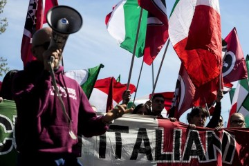 Italian senate asks government to ban Forza Nuova neofascist party