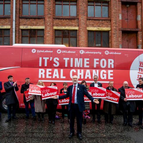 Photo Story: Labour Party unveils general election campaign bus