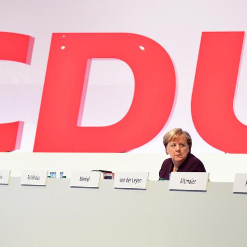 Angela Merkel faces party revolt over Huawei in German 5G rollout