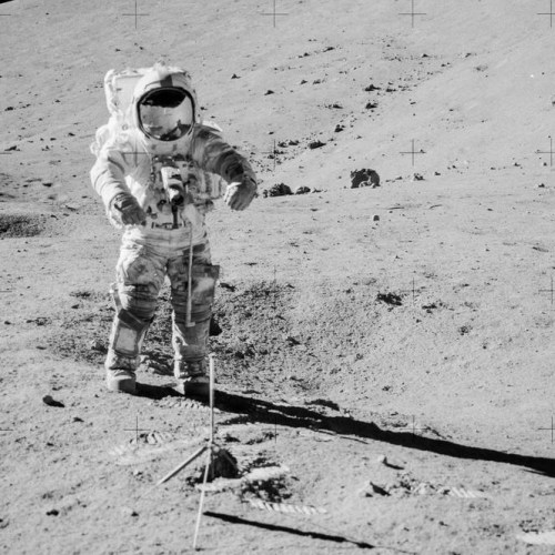 NASA scientists open untouched Moon rock and soil sample ahead of Artemis missions