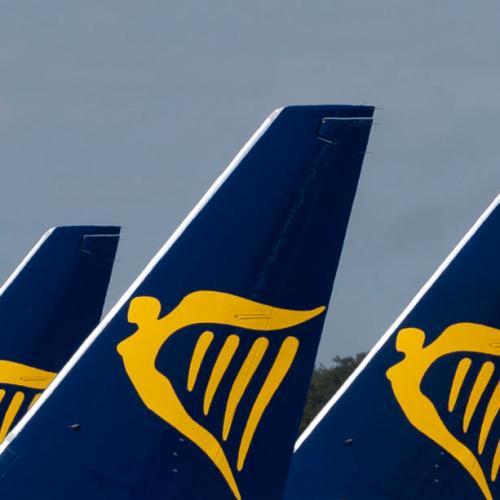 Ryanair has been named the filthiest airline in the UK