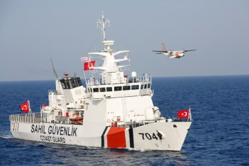 Migrant boat carrying 45 people sinks south of Turkey