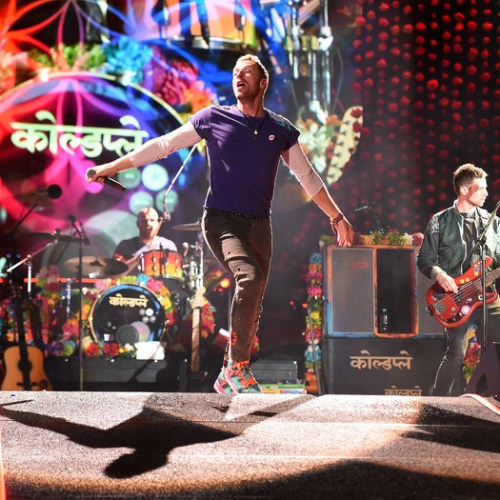 Coldplay will not be touring due to concerns over their concerts' environmental impact