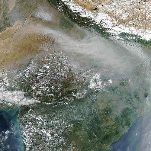 Photo Story: Haze smothers Northern India