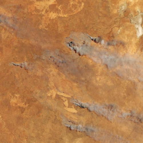 Photo Story: The fire in Western Australia from Space