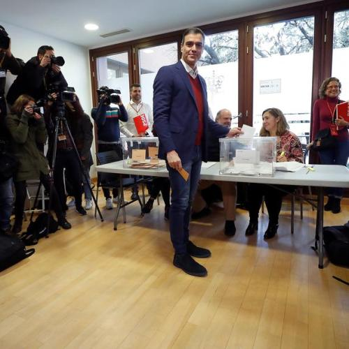 Spaniards vote in fourth election in four years