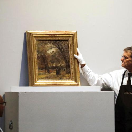 Van Gogh paintings to be auctioned in Sotheby's, New York