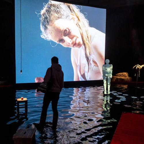 Photo Story: The World of Saskia Boddeke & Peter Greenaway exhibition in Torun, Poland