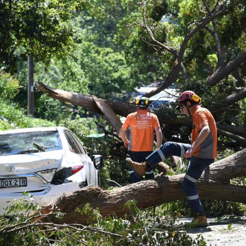 Photo Story: Sydney hit by severe storm