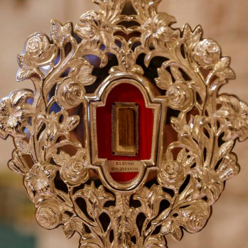 Photo Story: Relic of the Holy Crib of the Child Jesus in Jerusalem