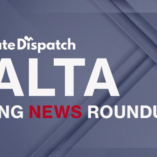 Malta Evening News Roundup (UPDATED)