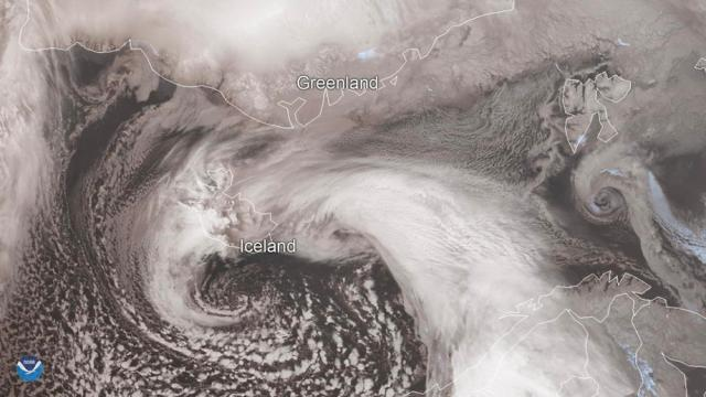 Severe winter storm wreaks havoc across Iceland
