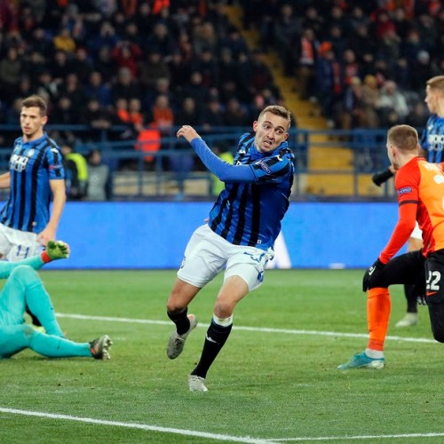 Atalanta qualify to the knockout stages of the Champions League