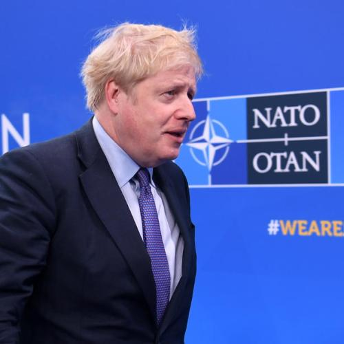 """Johnson warns NATO members not to """"shy away"""" from emerging threats"""