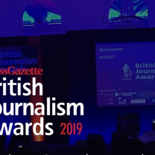 British Journalism Awards 2019: Paul Caruana Galizia named New Journalist of the Year
