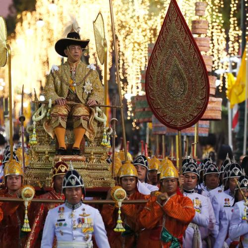 Celebration for to mark the conclusion of King Rama X coronation in Thailand