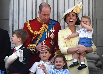 The youngest son of Prince William and Kate Middleton, Prince Louis has started to talk
