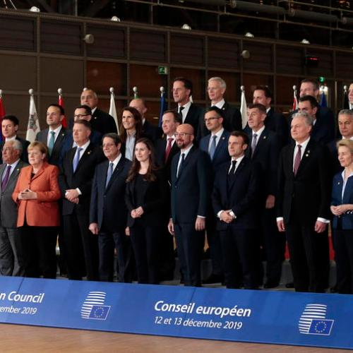Photo Story – European Council Family Picture
