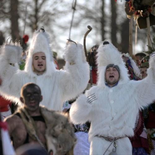 Ukrainian traditional holiday Malanka