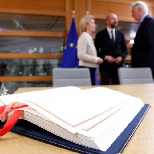 EU to seek until April 30 to ratify Brexit deal